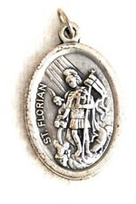 ST FLORIAN Catholic Saint Medal patron firefighters chimney sweeps drowning