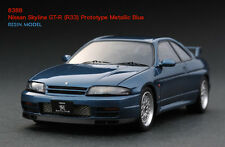 1:43 HPI RESIN #8388 Nissan Skyline GT-R (R33) Prototype Metallic Blue