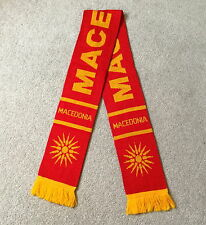 Macedonia Scarf Brand New Good Size Great Quality Knitted Scarf