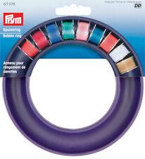 Prym Bobbinsaver Bobbin storage ring. Keep bobbins safe and colours visable