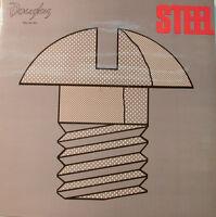 "Mega Rare -steel- Douglas DGL64794 Krautrock Psychedelic Rock 12 "" LP [j987]"