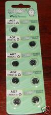 10PCS AG7 395 LR927 SR927 G7 SR927SW Cell BATTERIES