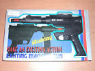 80'S VINTAGE SHAKING EXCITING MACHINE GUN I BATTERY OPERATED TOY MIB TAIWAN