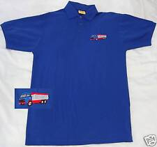 Volvo 86 Tipper embroidered on Polo Shirt