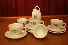6 Collectible Giordano Cappuccino cups and saucers plus priority mail