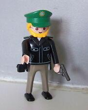 PLAYMOBIL (K2103) POLICE - Policier avec Revolver Maitre Chien 3984