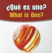 Que Es Uno?/What Is One? (Rourke Board Books) (Spanish Edition)-ExLibrary