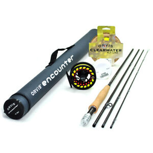 """Orvis Encounter 906-4 Fly Rod Outfit : 9'0"""" 6wt"""