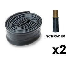 "2 x 26"" INCH x 1.95 - 2.125 BIKE CYCLE TYRE INNER TUBES BICYCLE SCHRADER VALVE"