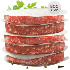 int!rend - praktisches Burgerpapier für perfekte Burger Patties 500 Stück