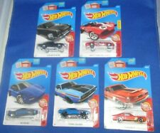 HOT WHEELS 5 THEN & NOW COLLECTOR CARS, NUMBERS 1- 5 OF 10, NEW