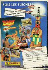 Publicité advertising 1995 Asterix et Obelix Panini