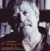WOLF BIERMANN - ERMUTIGUNG IM STEINBRUCH DER ZEIT 2 CD NEU