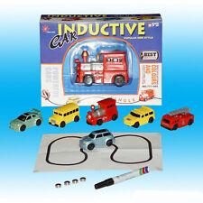 Best Follow Any Drawn Line Magic Pen Inductive Toy Car Truck Bus Tank Model