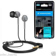 Sennheiser CX-200 STREET II STREET2 Dynamic Earphone Headphone (Black)