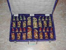 Vintage Indian Chess Set