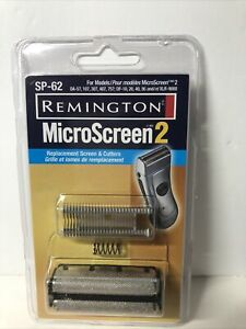 Remington SP-62 Men's Replacement screen & Cutter - Black