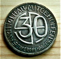 W.W.2 GERMAN COLLECTORS COIN  30 ORF