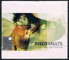 DISCO VAULTS A DIVE INTO DEEP RHYTHM - 2  CD F.C.  SIGILLATO!!!