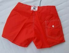 Birdwell Beach Britches Board Shorts Size 32-40 Swimming Trunks Orange