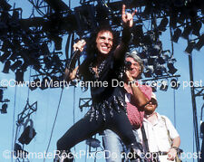 RONNIE JAMES DIO PHOTO BLACK SABBATH Concert Photo in 1986 by Marty Temme