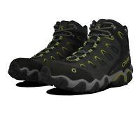 Oboz Mens Sawtooth Mid B-DRY Walking Shoes - Black Sports Outdoors Waterproof