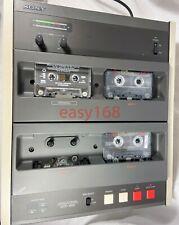 Sony Audio Cassette Duplicator CCP-1300 Working High Speed 1x3 Tape Japan 16x