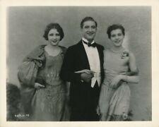 FRANCIS X. BUSHMAN & Daughters Original CANDID Studio Lot Vintage 1925 MGM Photo
