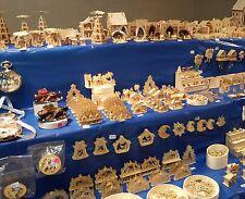 W O W 100 euro tomba BAG solo NATALE miniature Bastelset only Christmas