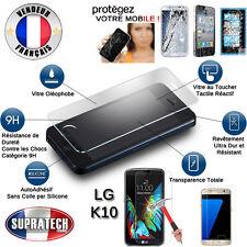 Protection d'Ecran en Verre Trempé Contre les Chocs pour LG K10