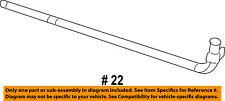 Dodge CHRYSLER OEM 09-10 Challenger 5.7L-V8 Radiator-Outlet Tube 4892346AD