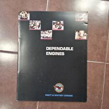 "Original Pratt & Whitney ""Dependable Engine"" Brochure Booklet, 16 page, 8.5 x 11"