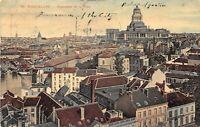 Brussels Belgium 1910 Postcard Panorama View Bruxelles Belgie