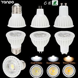 LED Spotlight Bulb Dimmable 15W COB E26 E27 GU10 MR16 110V 220V 12V Home Lamp RK