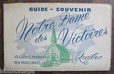 Souvenir Postcards Notre Dame des Victoires Church - Quebec