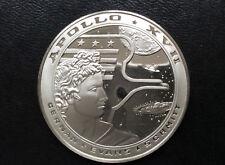 1977 Franklin Mint Apollo XVII Silver Medal Space Flight Emblems A2046