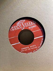 Bob Marley & Wailers - Simmer Down / How Many Times Studio One 45