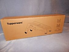 Tupperware MandoChef Mandoline +Julienne Slicer+Guide Board 3 Cutting Blades New