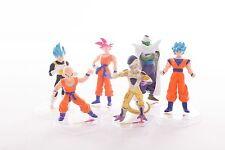 Lot 6Figurines DBZ Dragon Ball Z Neuf Freezer Son Goku God Krilin Vegeta Piccolo