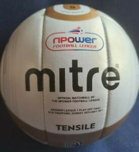 Mitre Tensile League one playoff final official match ball fifa approved