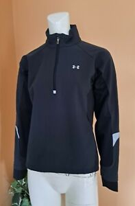 Under Armour 1/2 Zip Golf Running Athletic Pullover Jacket Womens Size XS Black
