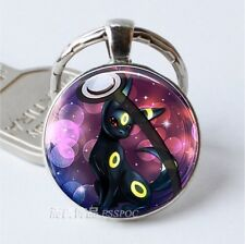 Umbreon Key Chain Ring Pokeball Pokemon Poke Silver Free Tracking US Seller New
