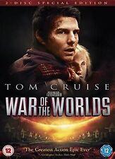 War Of The Worlds Tom Cruise, Dakota Fanning, Tim Robbins, Miranda NEW UK R2 DVD
