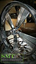 """26"""" x 3.75 inch custom motorcycle wheels harley roadking streetglide bagger"""