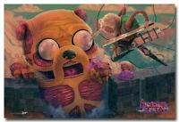 64217 Adventure Time Finn&Jake Cartoon Decor Wall Print POSTER