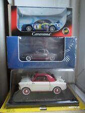 die-cast Autobianchi Bianchina 1:24 Borgward Isabella & Subaru Impreza 1:43 MIB