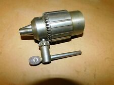 Atlas Craftsman South Bend Jacobs 58b Drill Chuck With 1 12 8tpi Threads