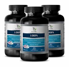 Dopamine boosting supplements- L-DOPA/Mucuna Pruriens-Supports the intellect-180