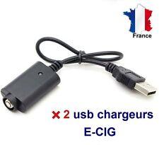 2 ports usb E-cig chargeurs 510 CE4 EGO-T E- cigarette électronique