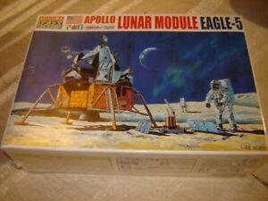 Aoshima 47491 Apollo EAGLE-5 Apollo Lunar Module Plastic Model Kit